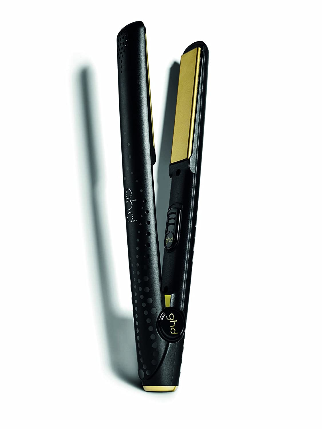 ghd v gold classic hair straighter side view