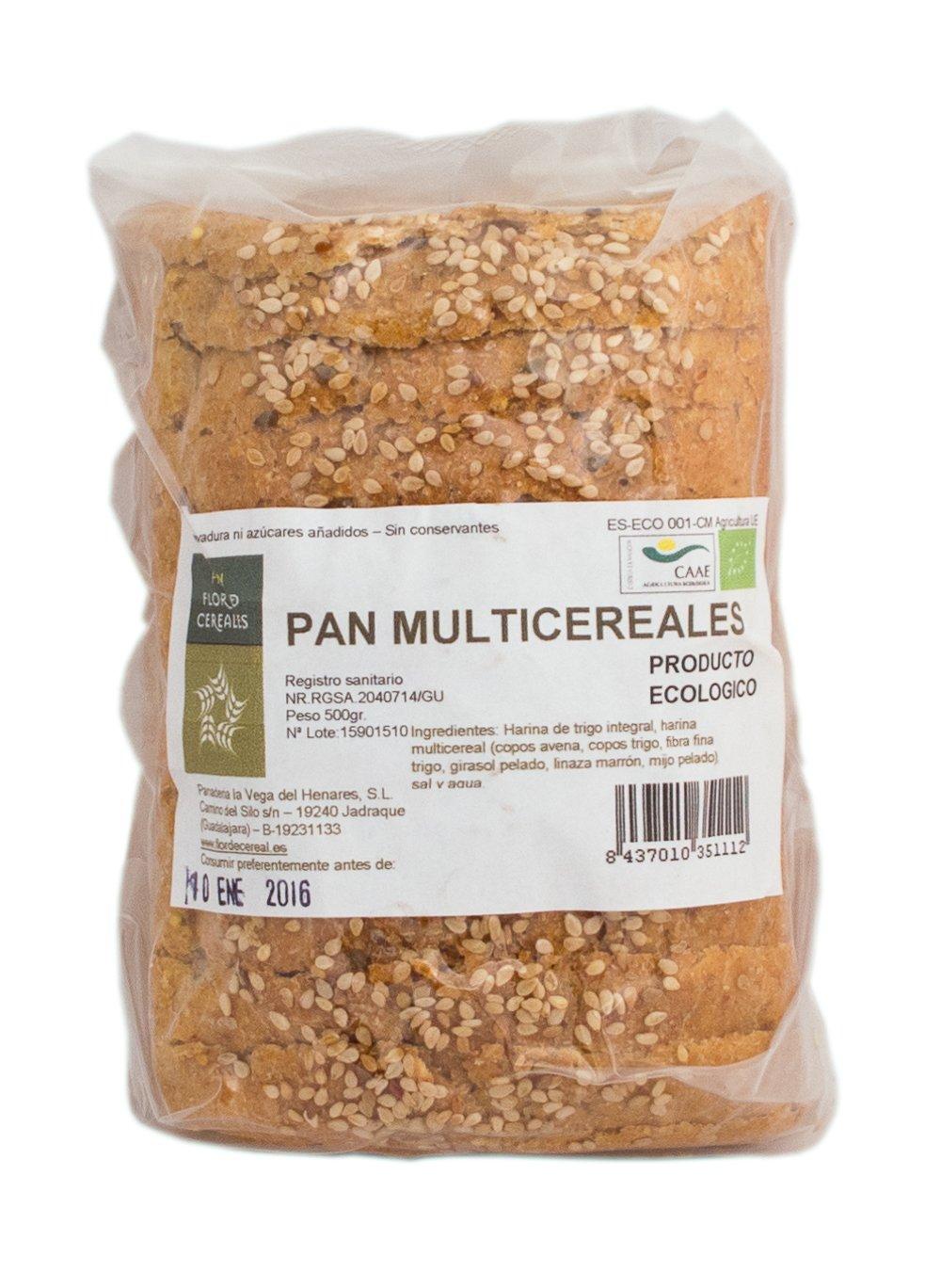Pan Multicereal integral 500gr.
