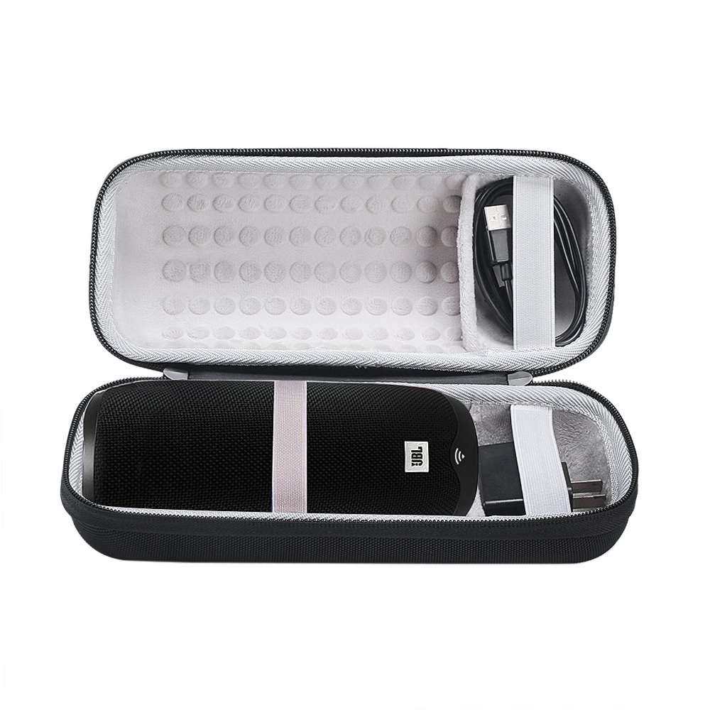 Esimen Case for JBL Link 10 Voice-Activated Portable Bluetooth Speaker Carry Bag Protective Pouch