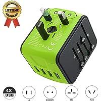 JMFONE International Travel Adapter with 4 USB Ports