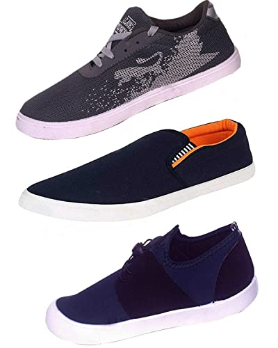 4adea114222c10 Starstep Loafers Shoes for Mens Casual Stylish Combo Pack 3 (9