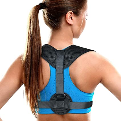 da1fe148e Posture Corrector for Women   Men - Posture Brace - Adjustable Back  Straightener - Discreet Back