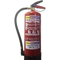 Extintor polvo 6 Kg. EFICACIA 27A/183B, incluye soporte.