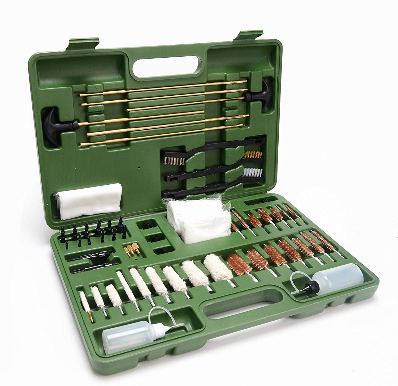 GLORYFIRE Universal Gun Cleaning Kit Hunting Rifle Handgun Shot Gun Cleaning Kit for All Guns with Case Travel Size Portable Metal Brushes by GLORYFIRE (Image #9)