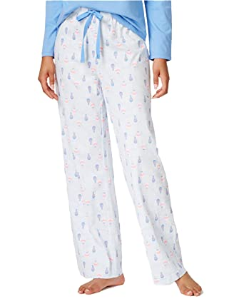 Charter Club Printed Knit Pajama Pants Color Balloon Flight Size Large at  Amazon Women s Clothing store  e66c74199