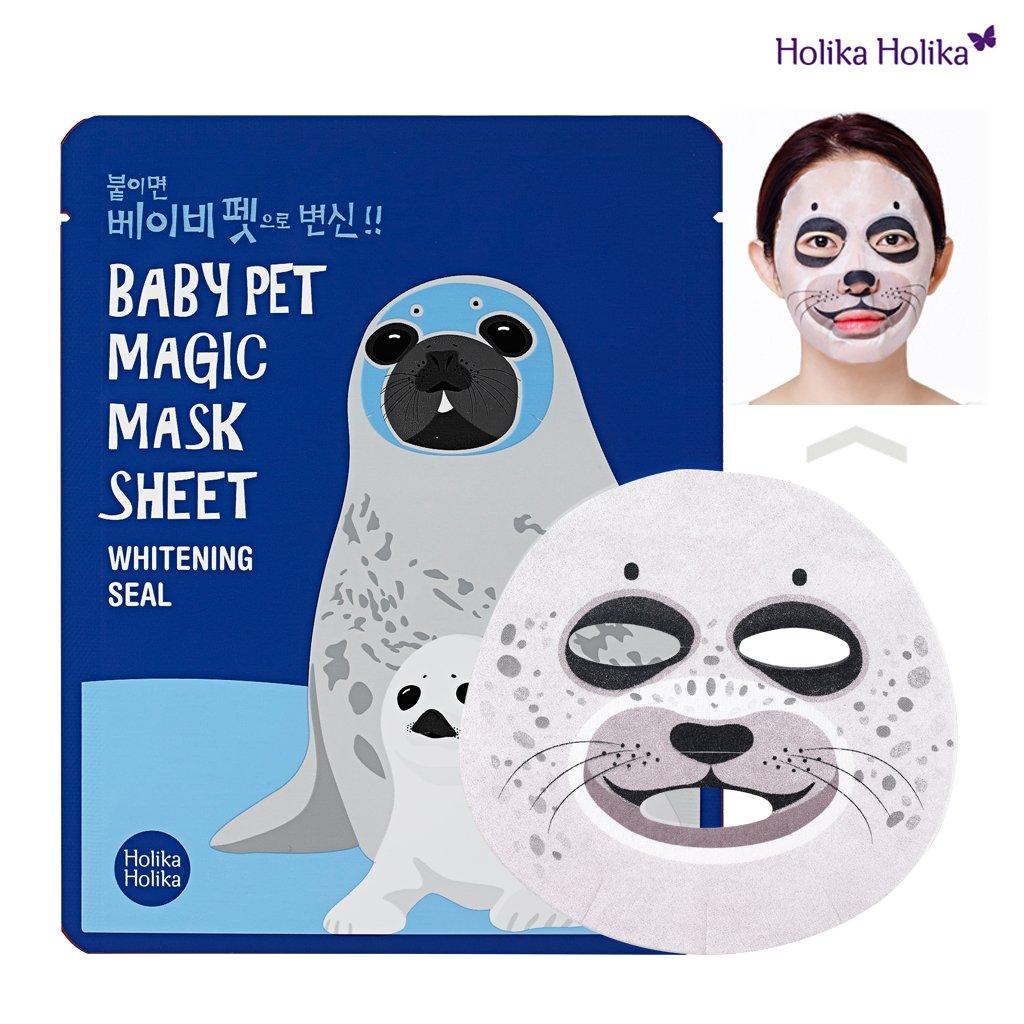 Holika Sheet Holika 22ml×5Sheet B01460WQNS Baby Pet Magic Mask Sheet 22ml×5Sheet (#Whitening Seal)/ホリカホリカ ベビー ペット マジック マスクシート 22ml×5Sheet (#Whitening Seal) B01460WQNS, ヌイヌイショップ:e625832d --- forums.joybit.com