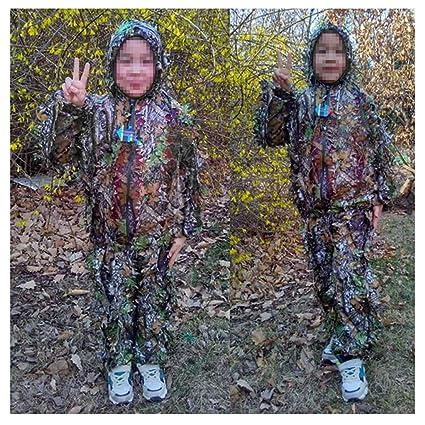 Ropa de camuflaje para niños, ropa Geely Prendas de rendimiento Traje PUBG Fotografía al aire
