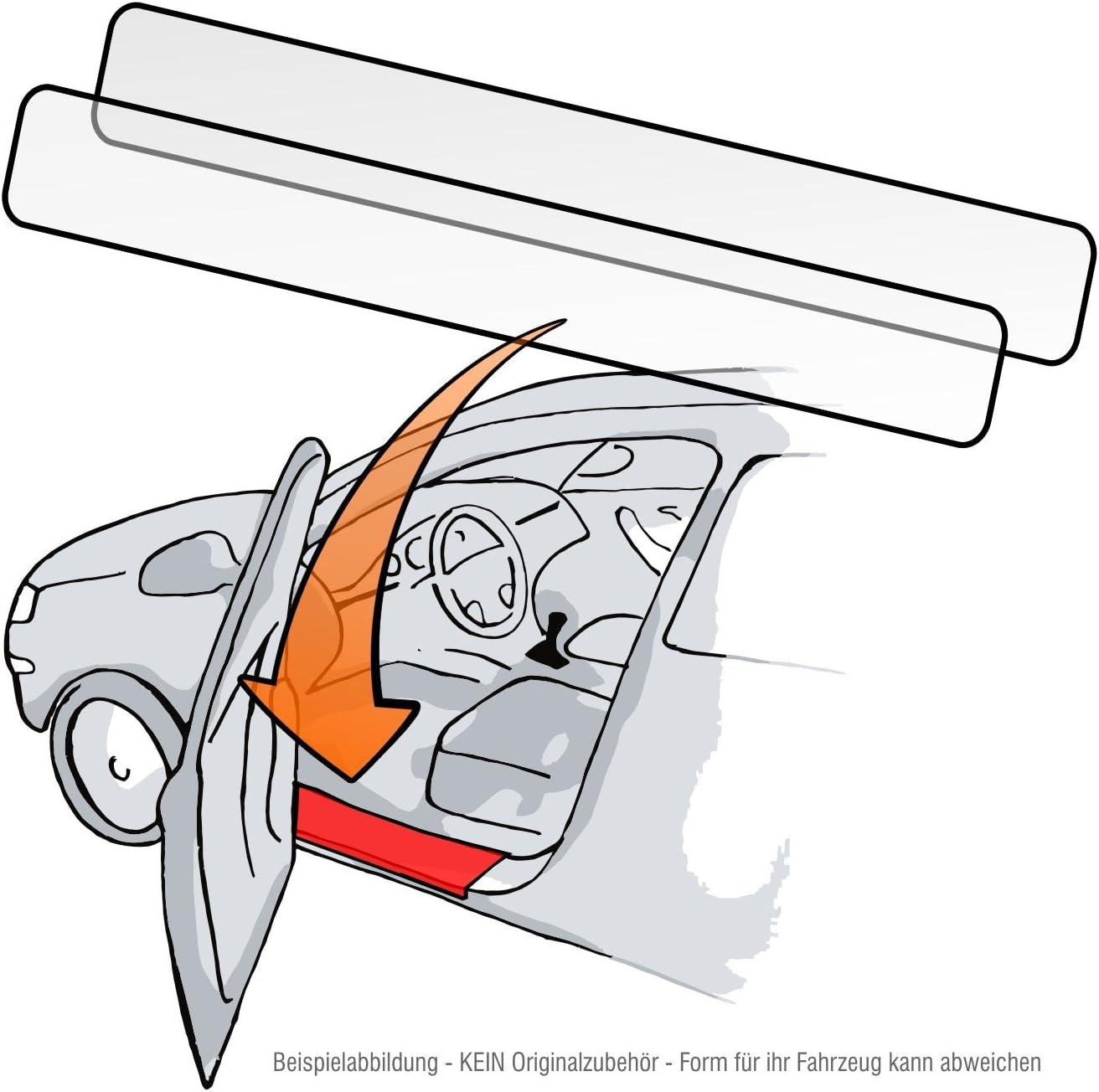 Passform Lackschutzfolie als Selbstklebender Ladekantenschutz Autofolie und Schutzfolie transparent 150/µm f/ür Modell Siehe Beschreibung Lackschutzshop