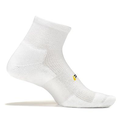 Feetures! - High Performance Cushion - Quarter - Athletic Running Socks for Men and Women