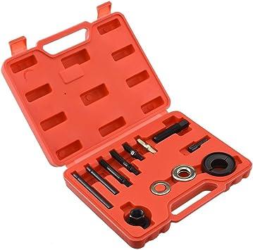 13pc Pulley Puller /& Installer Kit Power Steering Pump Remover Alternator AC Set