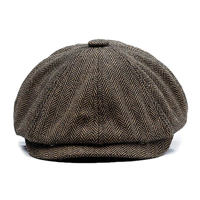 KeepSa Coppola Cappello Irish Gatsby Newsboy Hat Wool Felt Gatsby Ivy cap   Amazon.it  Abbigliamento cd5fb2fe56b7