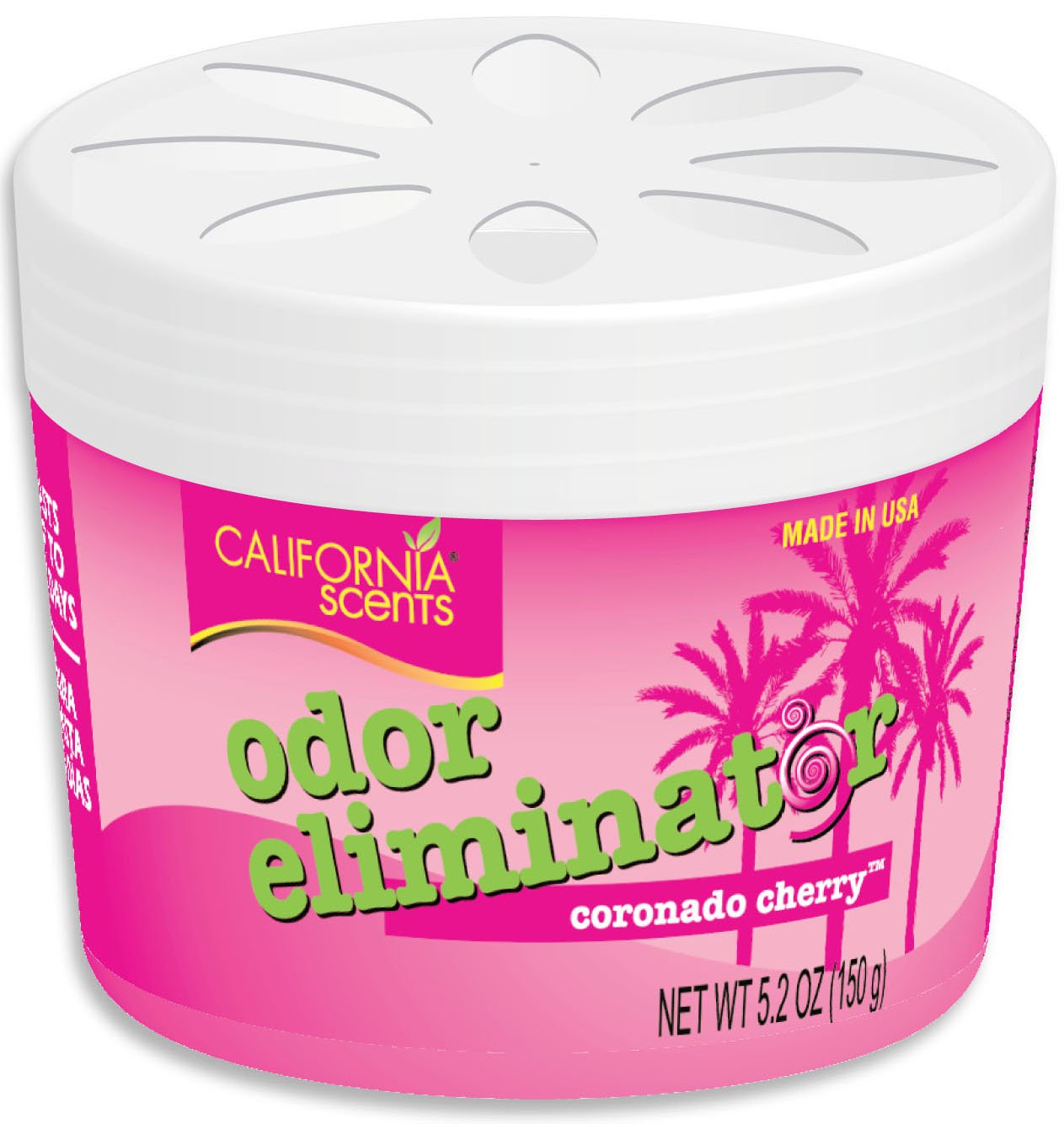 California Scents Odor Eliminator, Coronado Cherry, 5.2-Ounce Jars (Pack of 12)