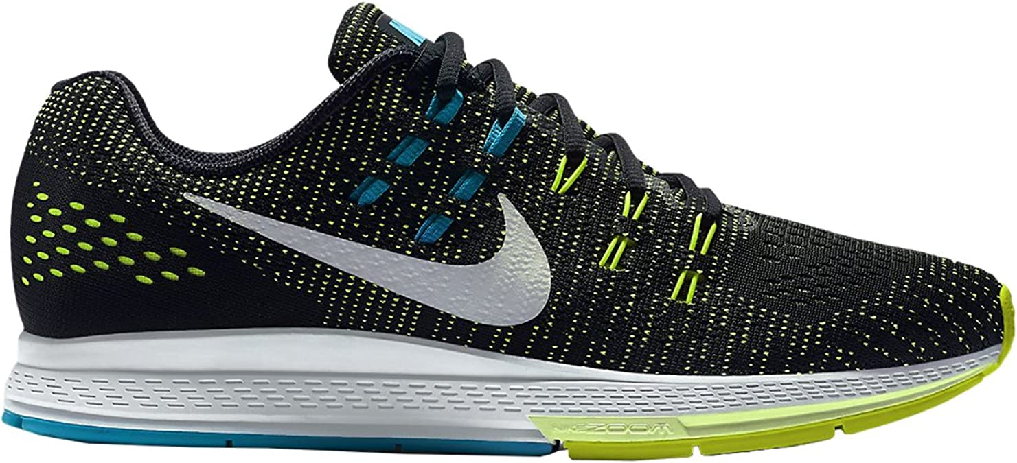 Nike Air Zoom Structure 19(4e), Zapatillas de Running para Hombre, Negro (Negro (Black/Pure Platinum-Volt-Blue Lagoon), 48.5 EU: Amazon.es: Zapatos y complementos