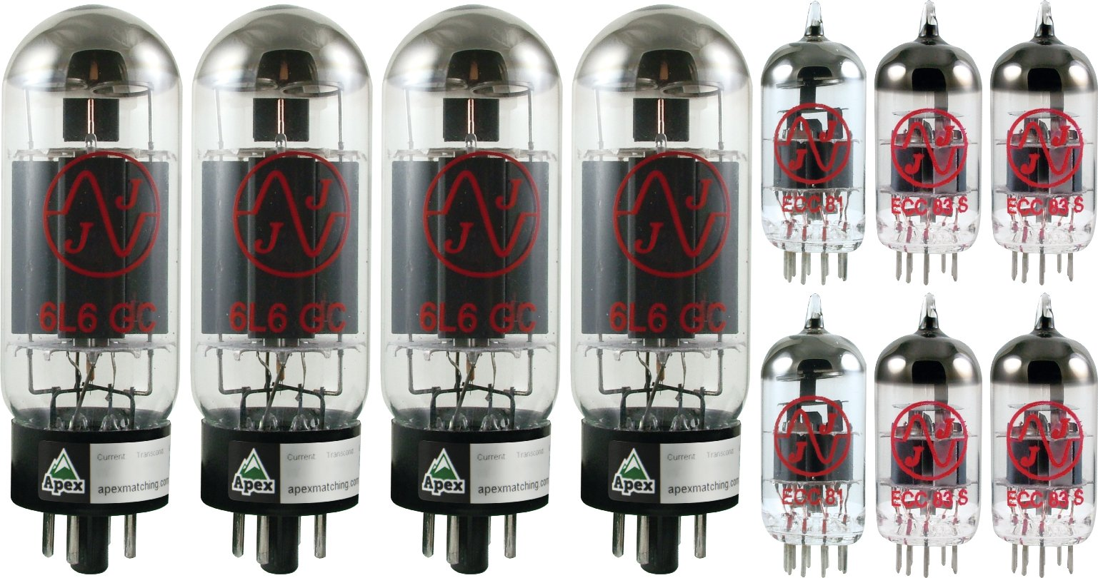 Vacuum Tube Set for Fender Twin Reverb, Apex Matched