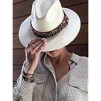 Sombrero estilo COWBOY MUJER blanco