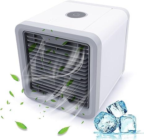 Aire acondicionado móvil ventilador USB portátil refrigerador de ...