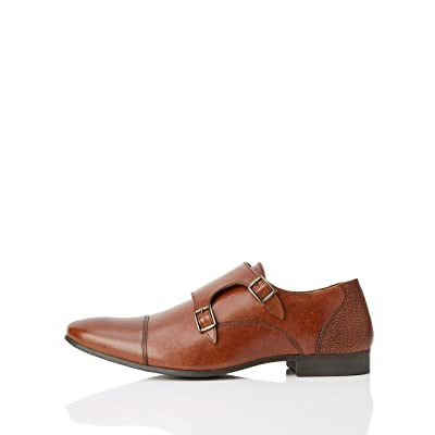 Amazon Brand - find. Men's Leather Derby Shoes: Shoes