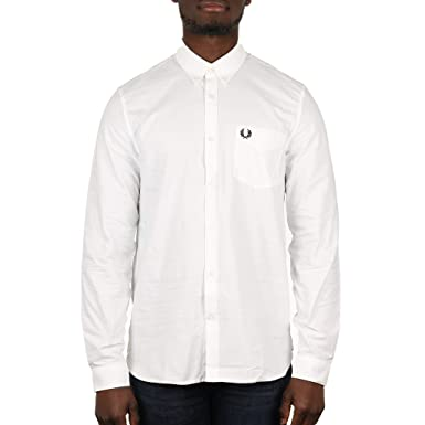 01ee7751 Amazon.com: Fred Perry Men's Classic Oxford Long Sleeve Shirt: Clothing
