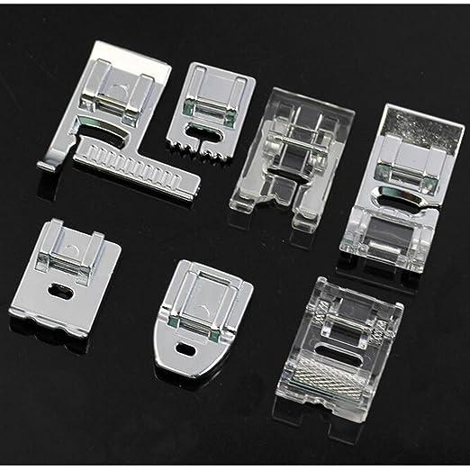 32 piezas | pies prensatelas de máquina de coser Universal | Compatible con todas las máquinas de coser. Máquina de coser Singer, máquina de coser Brother, ...