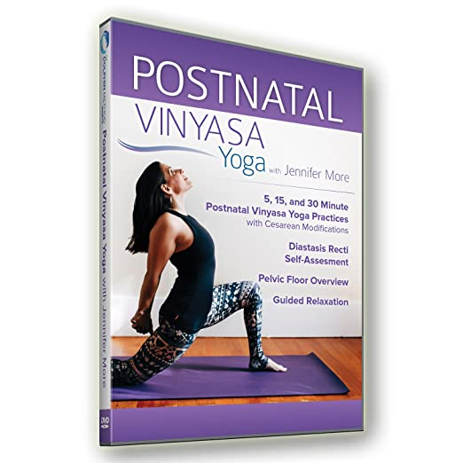 Amazon.com: Postnatal Vinyasa Yoga: Jennifer More, Jessica ...
