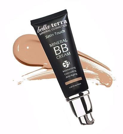 Bella Terra BB Cream 3-in-1 Tinted Moisturizer - Buildable Coverage - Light