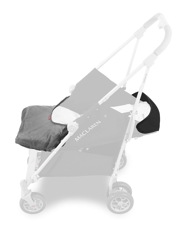 Ausziehbare Haube Gr/ö/ßter Regenschirm-Falt-Buggy f/ür Neugeborene bis 29 kg Maclaren Techno XLR arc Buggy extra gepolsterter Flachsitz mit verstellbarer Positionen 4-Rad-Federung