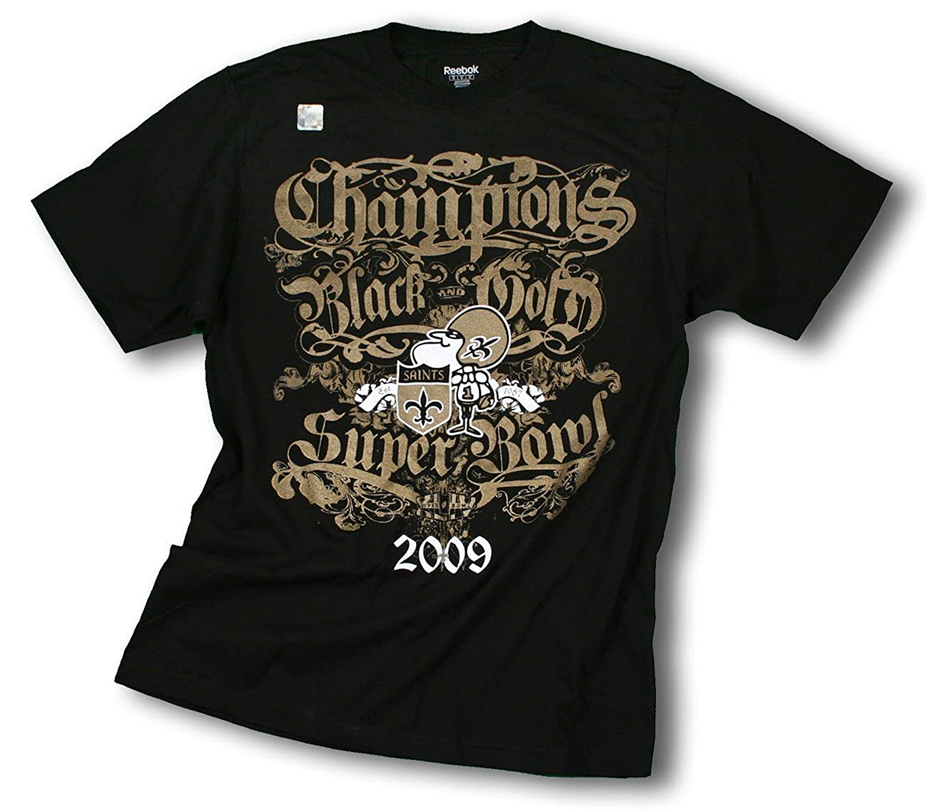 81b573d04 Amazon.com: New Orleans Saints SB 44 NFL Champions T-shirt (Medium):  Clothing