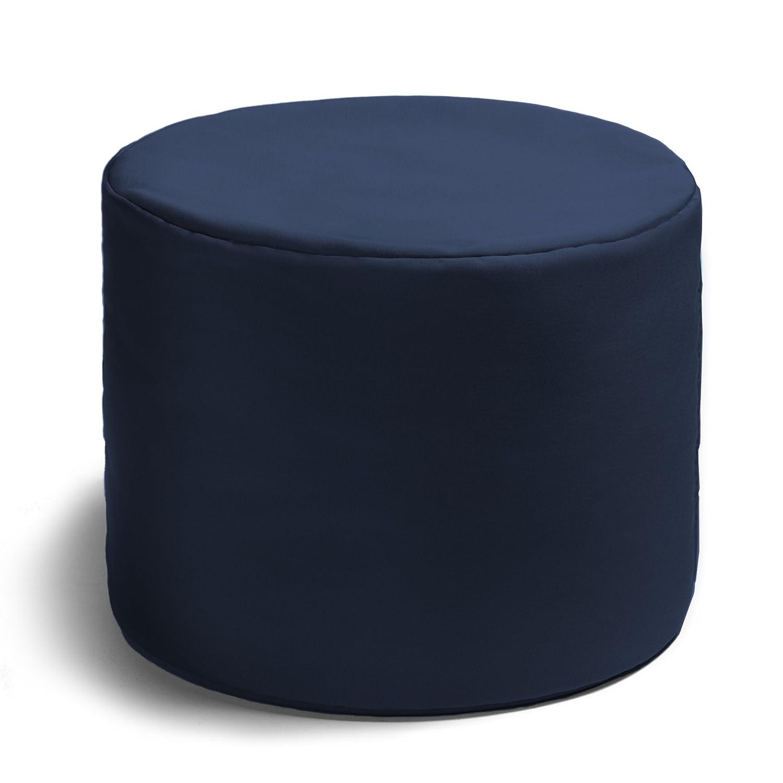 Prime Jaxx Spring Indoor Outdoor Bean Bag Ottoman Navy Lamtechconsult Wood Chair Design Ideas Lamtechconsultcom