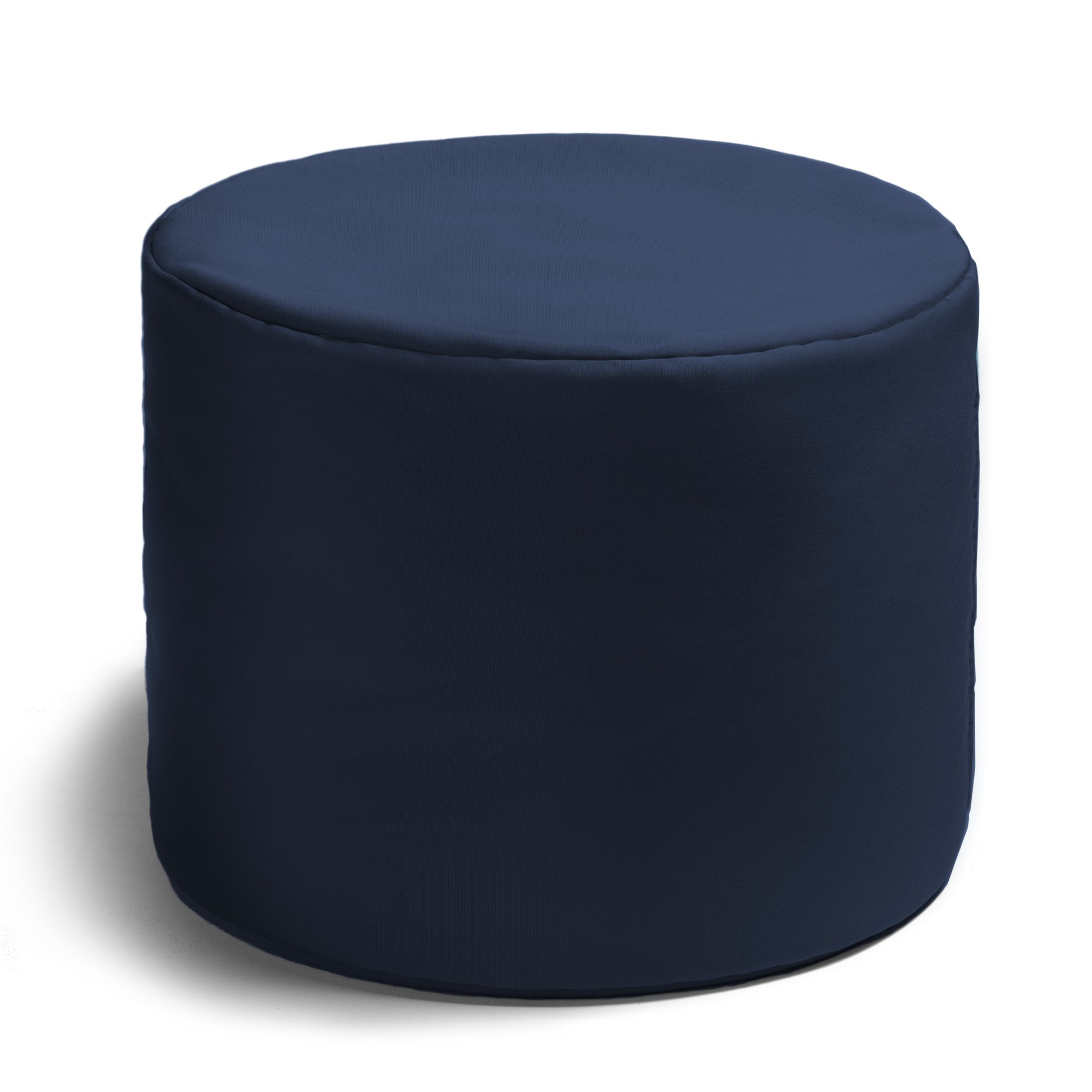 Jaxx Spring Indoor/Outdoor Bean Bag Ottoman, Navy by Jaxx