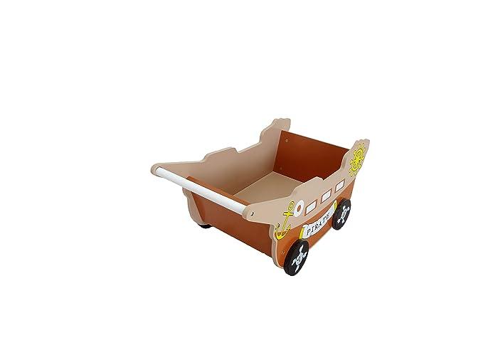 Bebe Style - Carrito andador de bebé, diseño de barco pirata ...