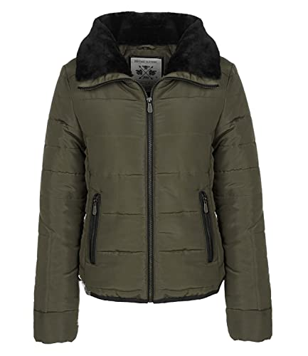 USF - Chaqueta - chaqueta guateada - Básico - Manga Larga - para mujer