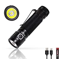 Deals on WOWTAC A6 1460 Lumens Compact LED EDC Handheld Flashlight