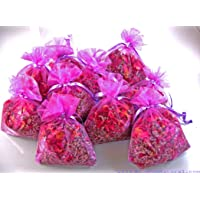 Pétalos de Rosa y Flores de Lavanda Deshidratados