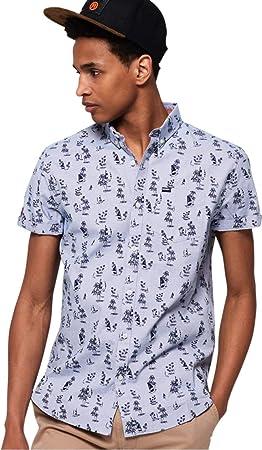 Superdry Premium Shoreditch Camisa Manga Corta