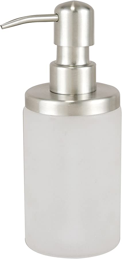 Axentia Naples Soap Dispenser For Liquid Soap And Lotion Bathroom Toilet Accessories Made Of Stainless Steel