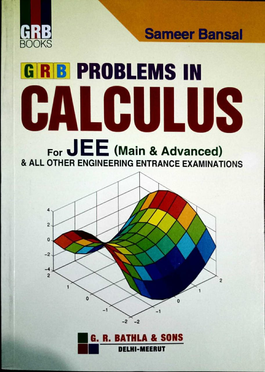 Amazon in: Buy GRB PROBLEMS IN CALCULUS BY SAMEER BANSAL