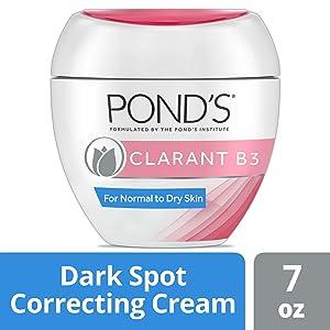 Ponds Correcting Facial Cream Clarant B3 Cream Dark Spot Corrector for Dry Skin 7 oz, 2 count
