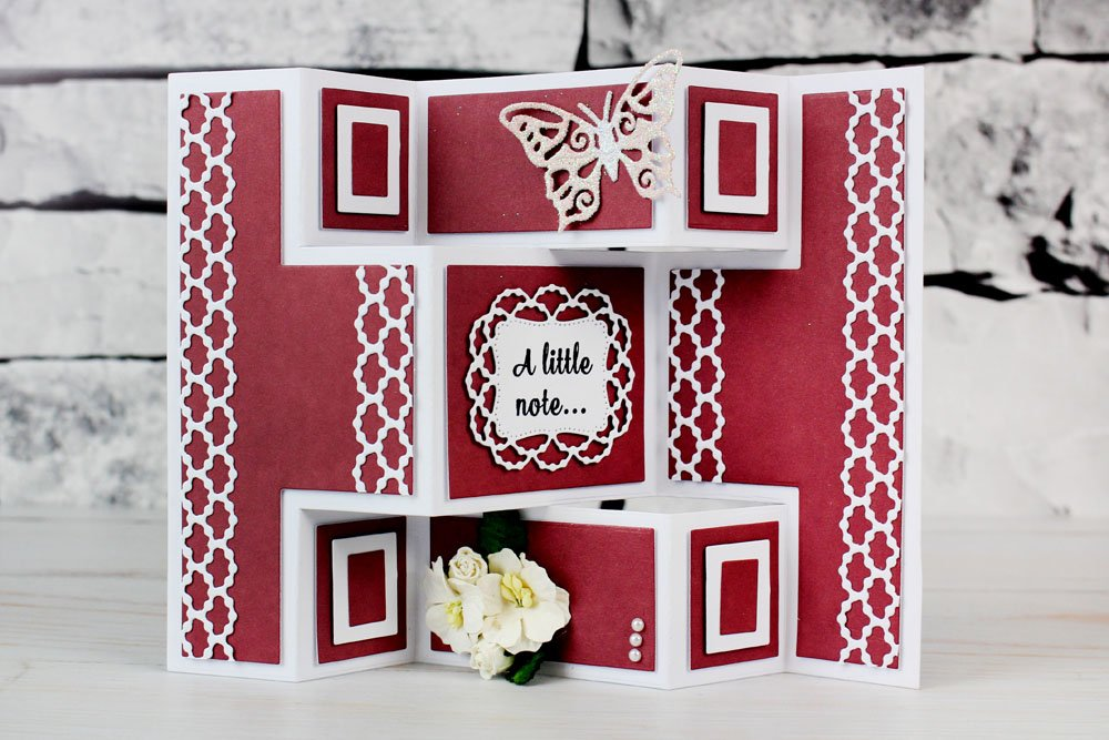 Tattered Lace Essentials mini Shutter Card Cutting Dies Set ETL111 Includes 30-Dies