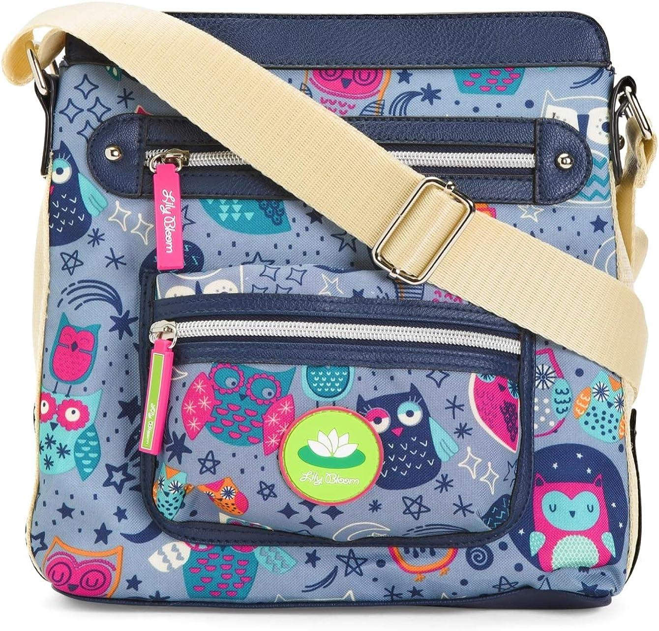 Lily Bloom Jaime Mini Crossbody Night Owl Handbag
