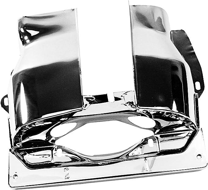 Chrome Dual Port Pair for VW Beetle IAP Performance AC119311 Cylinder Head Tin