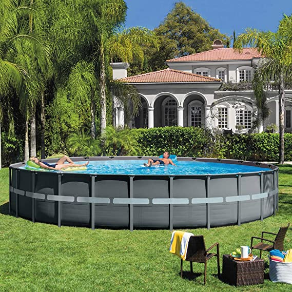 Intex 26340NP Piscina desmontable ultra XTR frame, con depuradora 732 x 132 cm: Amazon.es: Jardín