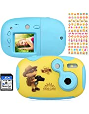"AGM Kinderkamera,Mini DIY Kinderkamera,Digitalkamera für Kinder Kamera mit 1.77"" LCD Display Design ,8 GB SD Card,Ersatzhülle und Aufkleber,Geschenk und Spielzeug für Kinder"