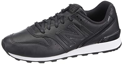 brand new 4942f 22541 New Balance Kadın 996 Moda Ayakkabı, Siyah, 37