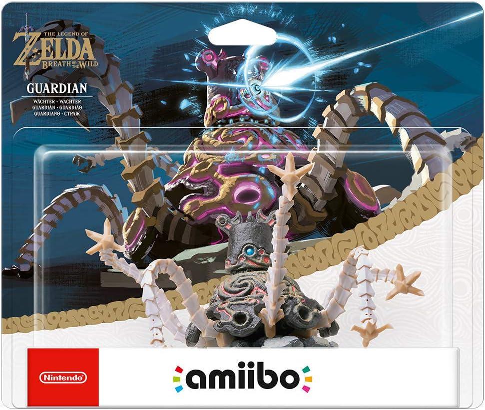 Nintendo - Figura Amiibo Guardian Serie Zelda: Amazon.es: Videojuegos