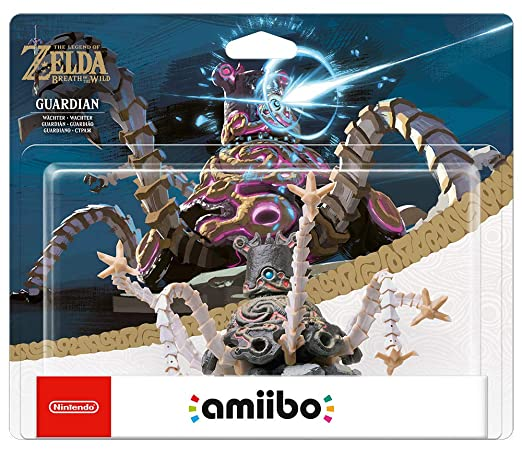 Nintendo - Figura Amiibo Guardian Serie Zelda: not machine ...