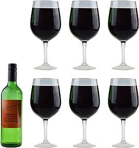 Rink Drink Copa de Vino Gigante - Caja Regalo - Cristal - 750 ml ...