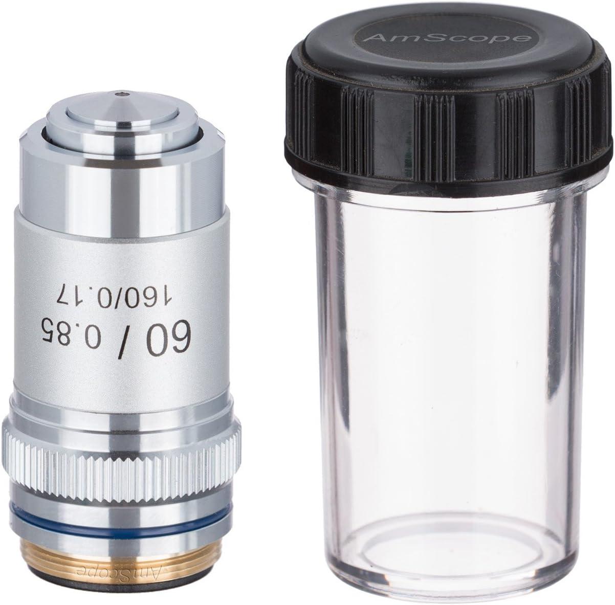AmScope A60X 60X Achromatic Microscope Objective