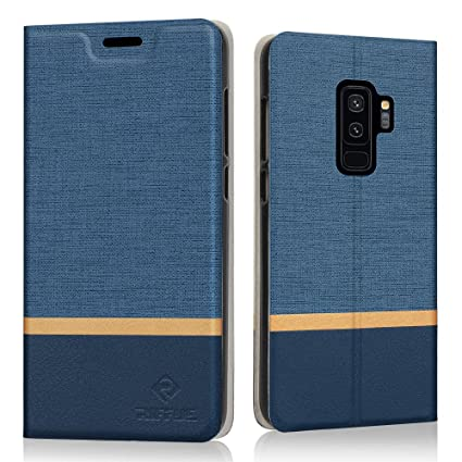 Amazon.com: Galaxy S9 Plus Case, RIFFUE Wallet Case Ultra ...