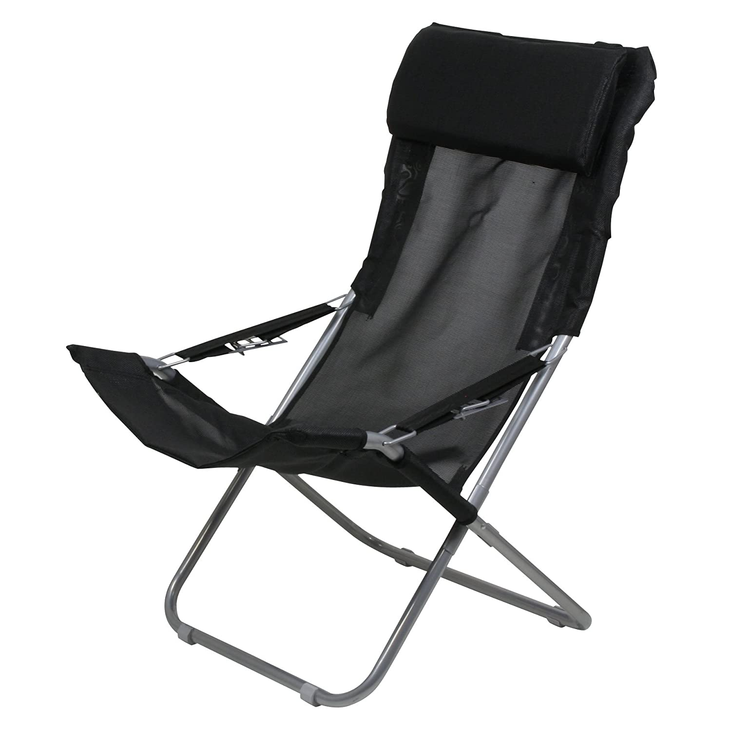 10T Maxi Chair Camping chair relax high back with head cushion