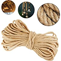 UPlama Cat Scratching Post Sisal Rope,Sisal Rope, Repairing, Recovering or DIY Scratcher for Cat Tree and Tower,1/4 in Dia x 98Ft